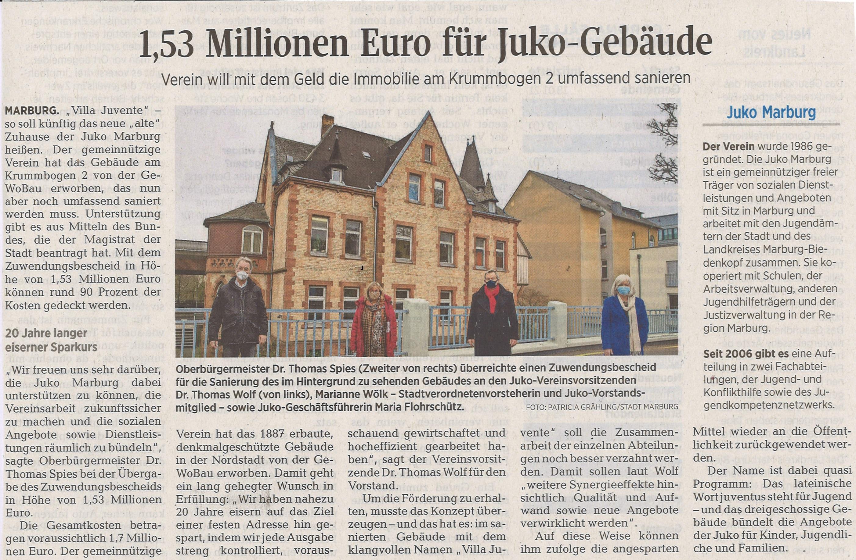 Bildquelle: Oberhessische Presse